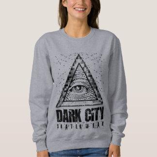 Feminine Suéter Dark City - Pyramid Sweatshirt