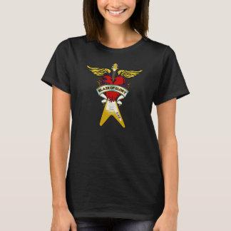 "Feminine t-shirt ""Blaze Of Glory """