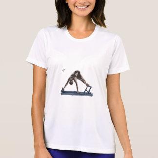 Feminine t-shirt Micron-fibre Pilates Reformer