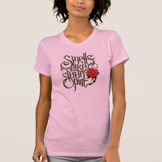 """Feminine t-shirt """"Smells Like Teen Spirit """""""