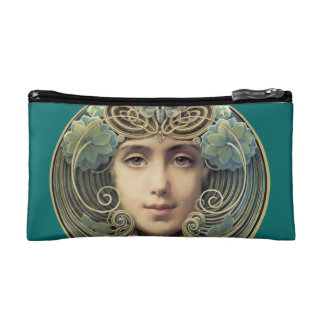 Feminine Vintage Nouveau Beauty Cosmetic Bag