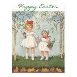 Feminine Ways Easter Card Postcards