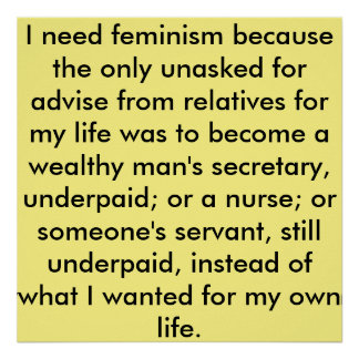 Feminism 101 - Posters and Quotes - Art - Gifts