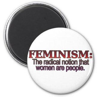 Feminism 2 Inch Round Magnet