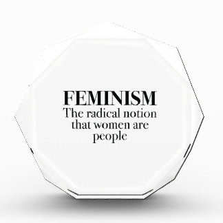 Feminism Acrylic Award