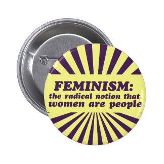 Feminism Pinback Buttons