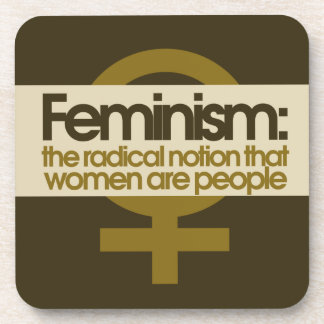 Feminism Drink Coaster