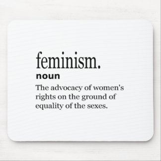feminism definition mouse pad