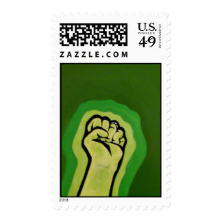 Feminism Fist Postage Stamps