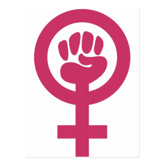 Feminism For The Win Postcard