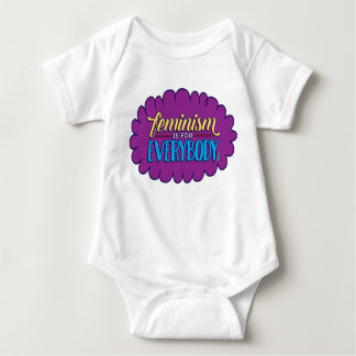 Feminism is for Everybody Baby Clothes Tee Shirt