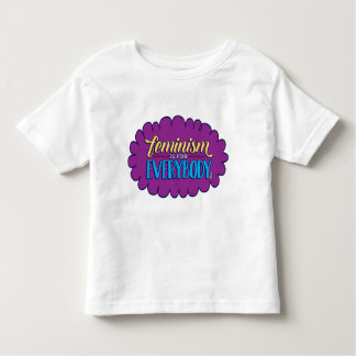 Feminism is for Everybody Toddler Tee