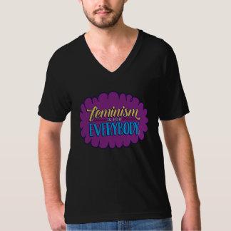 Feminism is for Everybody -- Unisex V-Neck Tee