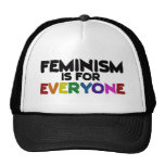 Feminism is for everyone trucker hat