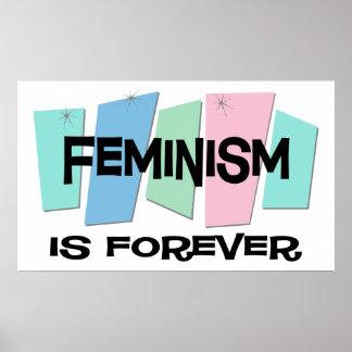 Feminism Is Forever Poster