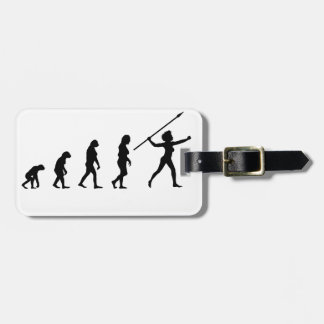 Feminism is the radical notion luggage tag