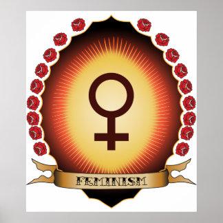 Feminism Mandorla Poster