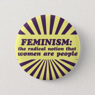Feminism Pinback Button
