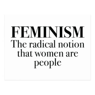 Feminism Postcard