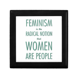 Feminism: The Radical Notion that Women are People Gift Box