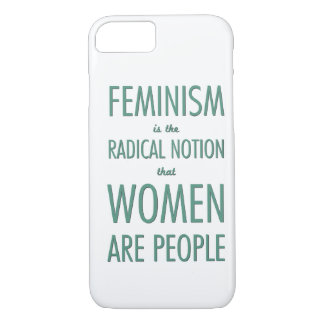 Feminism: The Radical Notion that Women are People iPhone 8/7 Case