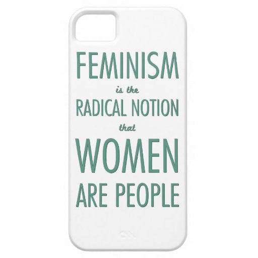 Feminism: The Radical Notion that Women are People iPhone SE/5/5s Case