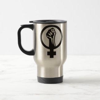 Feminismo de Anarcha Taza De Viaje