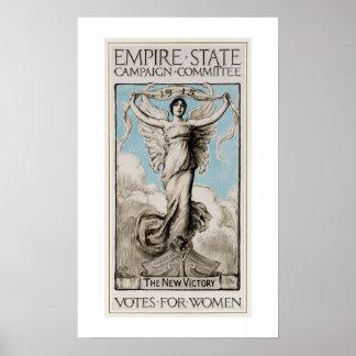 Feminismo de los E.E.U.U. de la historia 1915 Póster