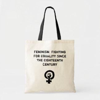 Feminismo: El luchar para el bolso de la igualdad Bolsa