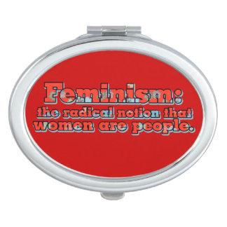 Feminismo Espejos Compactos