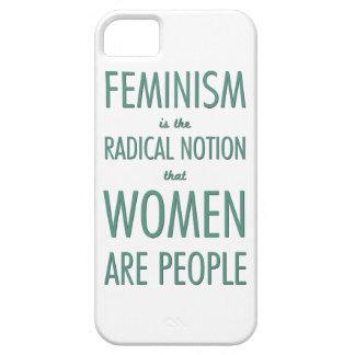 Feminismo: La noción radical que las mujeres son iPhone 5 Case-Mate Cárcasa