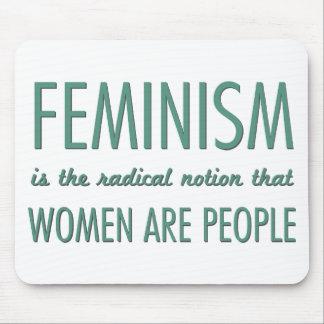 Feminismo: La noción radical que las mujeres son g Alfombrilla De Ratón