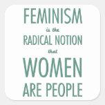 Feminismo: La noción radical que las mujeres son g Etiqueta