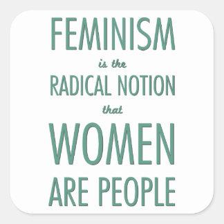 Feminismo La noción radical que las mujeres son g Etiqueta