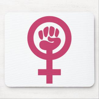 Feminismo para el triunfo alfombrillas de ratón