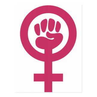 Feminismo para el triunfo postales