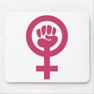 Feminismo para el triunfo tapete de ratón