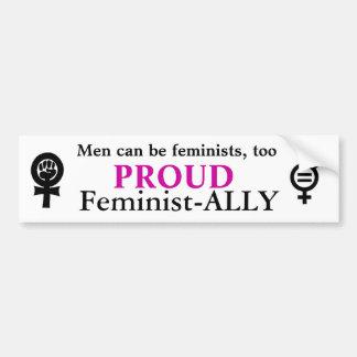Feminismo Pegatina Para Auto