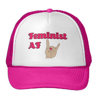 Feminist AF, trucker hat