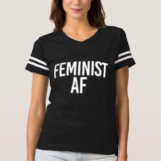Feminist AF - - white - T-shirt