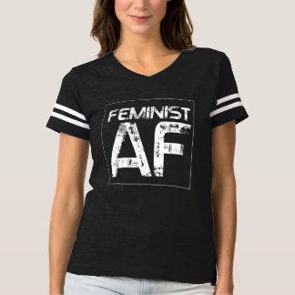 Feminist AF -- - white - T-shirt