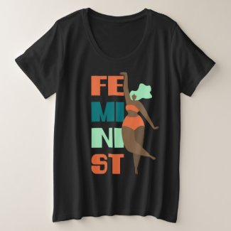 FEMINIST Plus Size T-Shirt