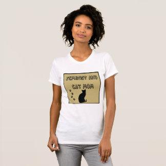 Feminist and Cat Mom T-Shirt