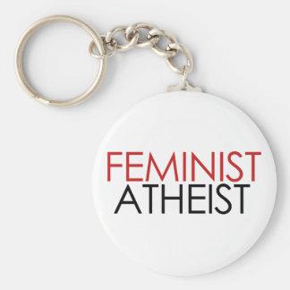 Feminist Atheist Keychain