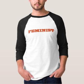 Feminist Baseball T T-Shirt