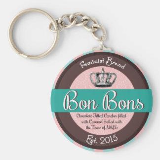 Feminist Bon Bons Keychain