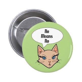 Feminist Cat - Buttons