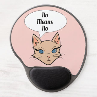Feminist Cat Gel Mouse Pad