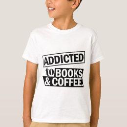 Feminist Coffee Addict Book Lover T-Shirt