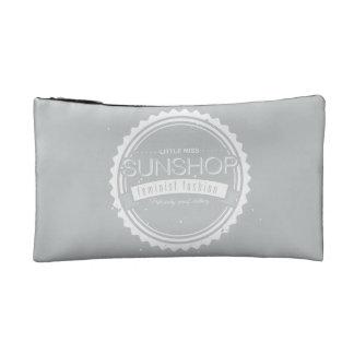 Feminist Cosmetic Bag in Grey
